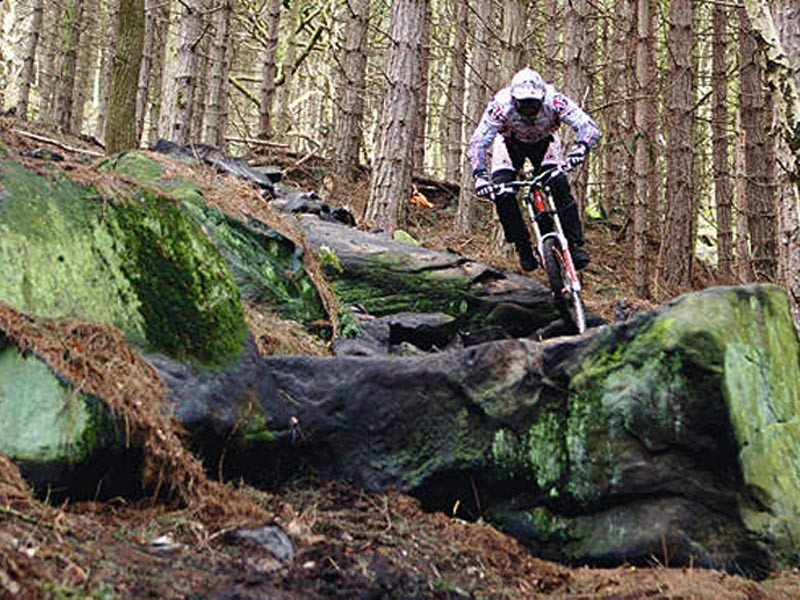 Steve Peat rides Wharncliffe Woods