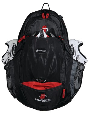 The new Hincapie Sportswear Pro Pack rucksack is designed to hold all of your cycling essentials in one easy-to-transport bag