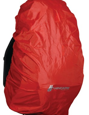An integrated rain cover helps keep contents dry in the event of a downpour