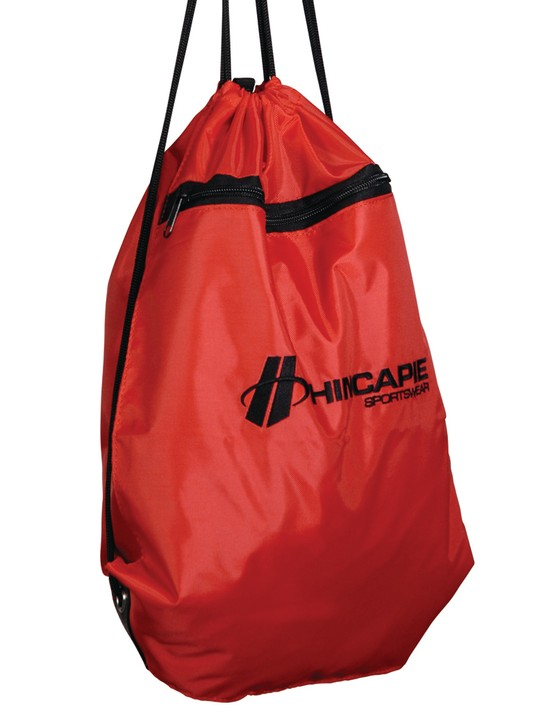 An included nylon laundry bag helps keep dirty and/or wet clothes separated