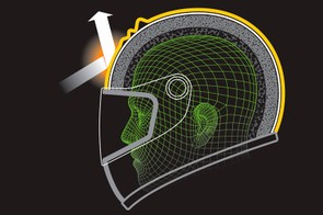 The Phillips Head Protection System mimics the human scalp to protect helmet wearers from rotational injuries