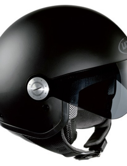 Lazer's SuperSkin helmet uses the technology, and from a distance it looks like any other lid...