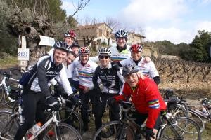 The Cycle Slam Team are in France. C'est bon!