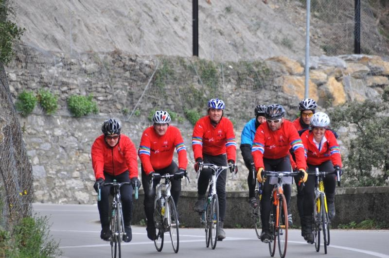 Cycle Slammers on the road