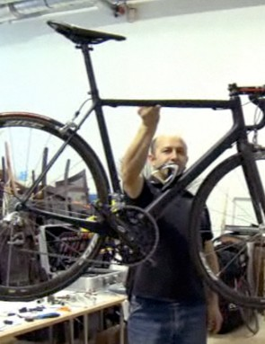Claimed weight on a 54cm Cervelo Project California frame is just 700g