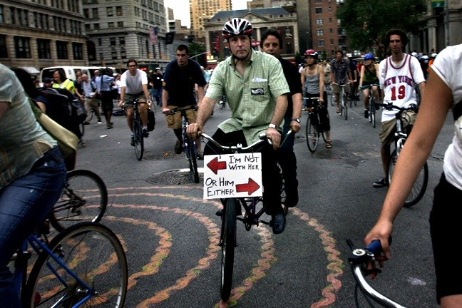 Group rides over 50 now require a permit in NYC.
