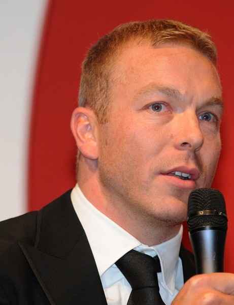 Sir Chris Hoy was one of a host of cycling stars attending the Gala Dinner