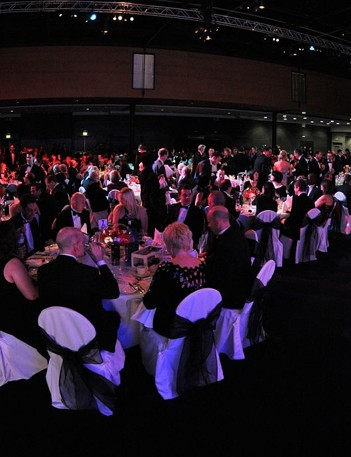 Nearly 700 people filled Manchester Central for British Cycling's 50th anniversary celebrations