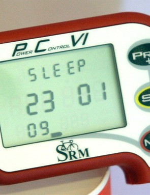 SRAM's SRM is compatible with the Power Control 7 head unit. The soon-to-be-released PC8 will also mate with the cranks
