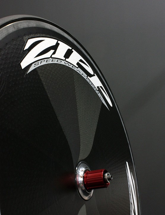 Zipp's Super-9 flat disc wheel will be a staple in the teams' equipment come time trials