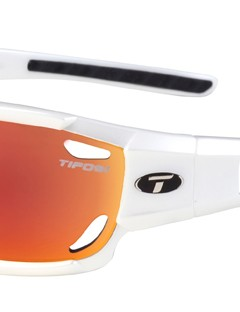 Tifosi Optics' Dolomite model features a full frame for a slightly more casual look plus temple vents to prevent fogging and interchangeable lenses