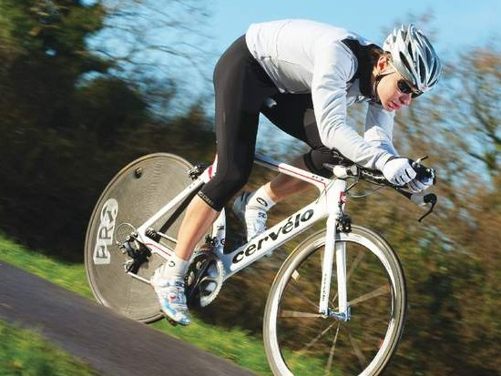 The ride is startling in terms of the bike's complete commitment  to maximum speed. You can't help but push yourself to the limit