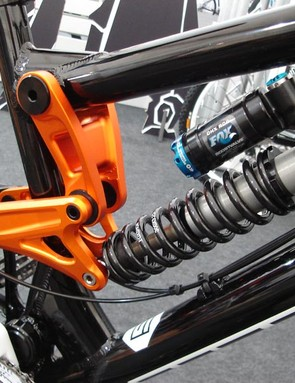Saracen Myst medium frame linkage