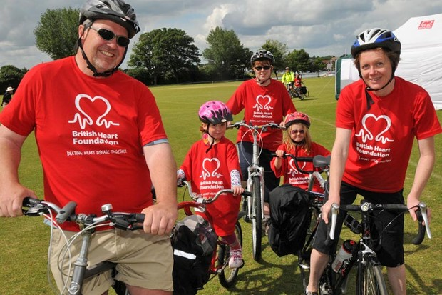 Happy BHF riders