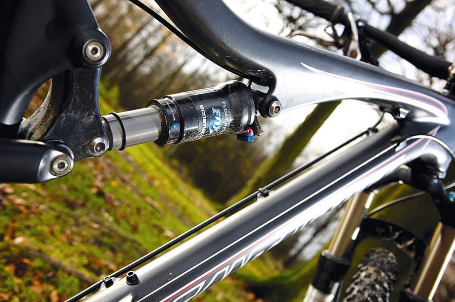 Santa Cruz offer a £100 upgrade to the Fox RP23 shock for improved performance