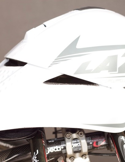 Lazer's Tardiz time trial helmet.