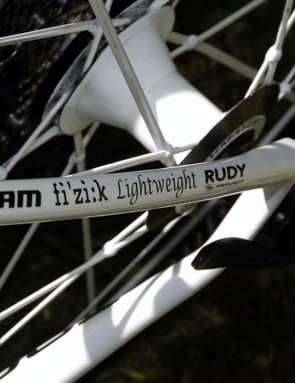 'I'd like to thank my sponsors': Milram's rigs feature the names of all their key suppliers