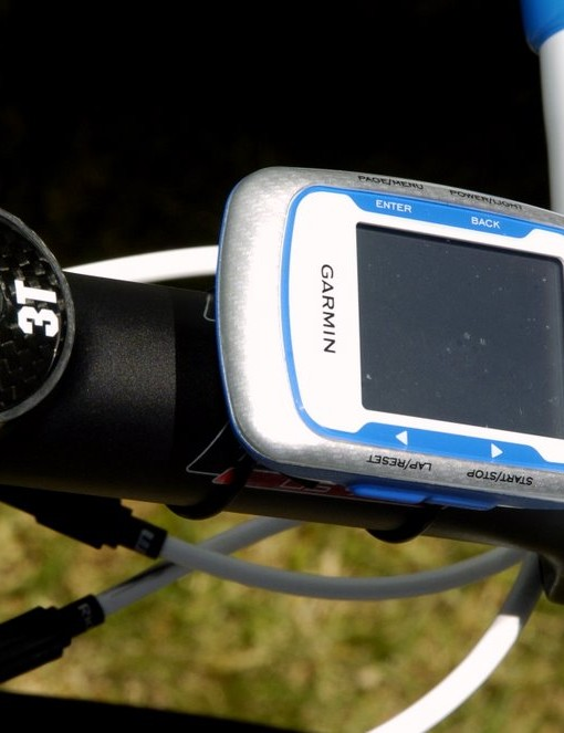 Milram are using the same Garmin computer that Garmin-Transitions have switched to this year