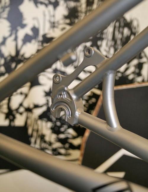 Saracen Kili titanium 2011 prototype dropout