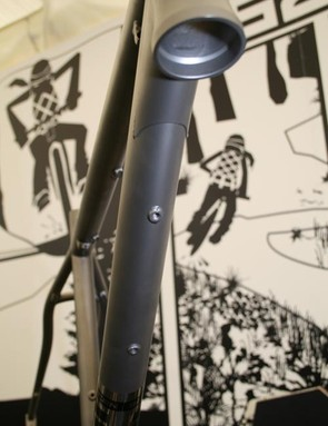 Saracen Kili titanium 2011 prototype headtube