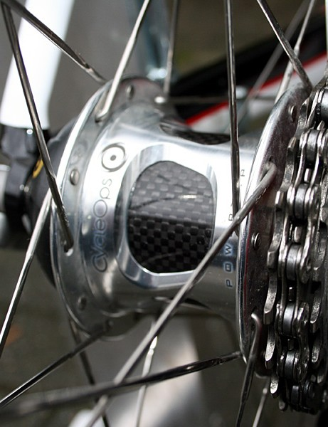 CycleOps PowerTap SLC+ hubs to record power