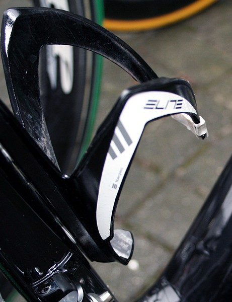 Elite is testing its new Sior and Paron bottle cages