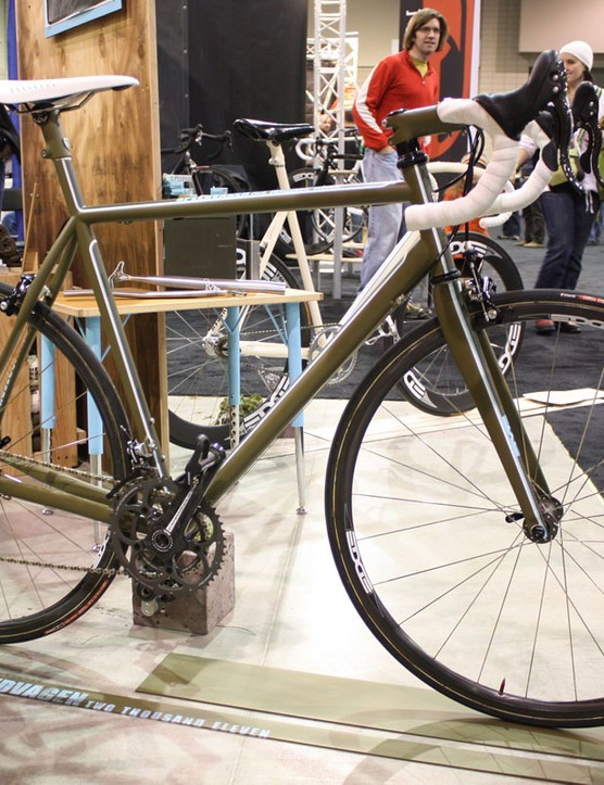 White's Speedvagen range has included road, 'cross and now track variants.