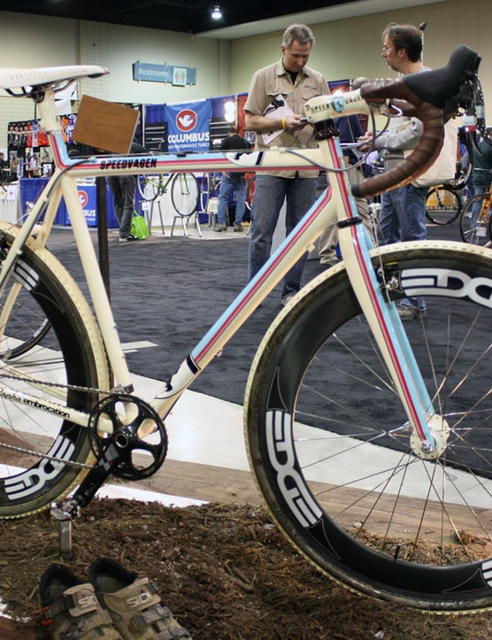 It's almost a shame to get this Speedvagen 'cross racer muddy.