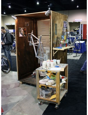 Even the Vanilla booth was impressive, making full use of the shipping containers used to transport all of the gear.
