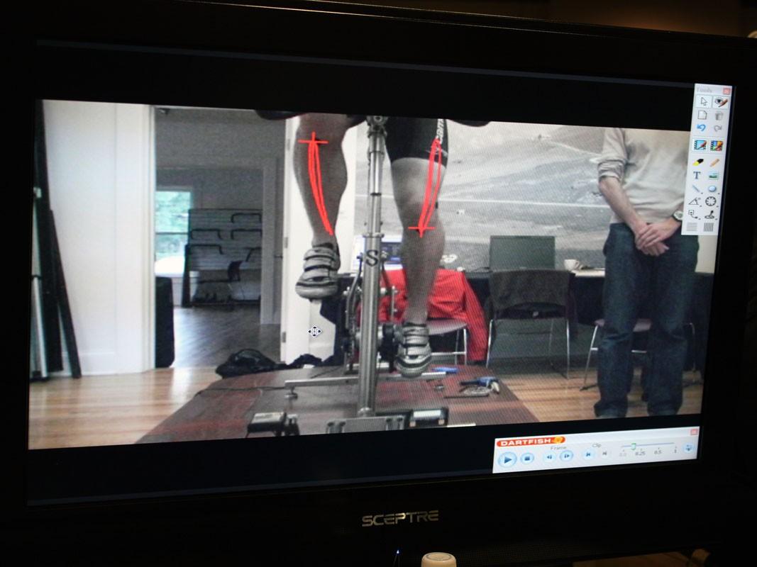 Optional Dartfish software provides more intricate analysis capabilities