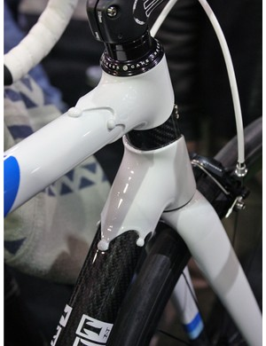 Independent Fabrication's carbon lugs are functional and eyecatching