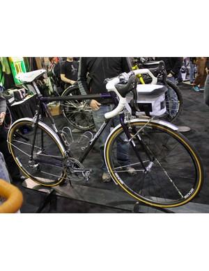 Independent Fabrications blend modern technology and classic styling for this randonneur bike