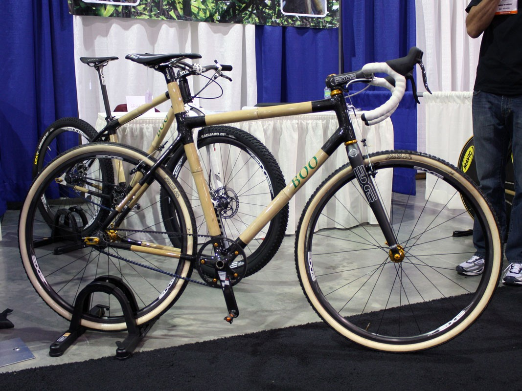Boo Bicycles, on the other hand, tout bamboo tubing mainly for its performance and unique ride quality