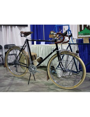 Aaron Rogers of Banjo Cycles built this S&S touring bike for himself and the level of detail was very impressive