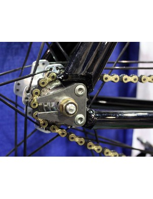 GroundUp now use titanium dropouts for their track bikes