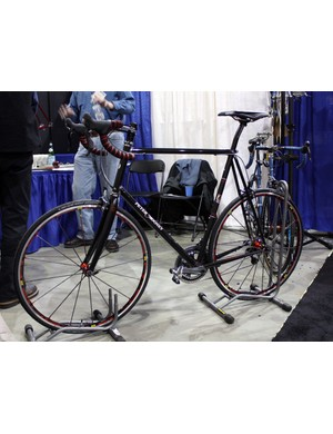 Peter Mooney's frames are generally more understated than some of the more outwardly embellished rigs at NAHBS