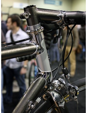 This Shamrock Cycles road bike sported the only Star headset we saw in the entire show