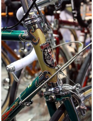 Spectrum Cycles took an old Hetchins and immaculately restored it to show quality