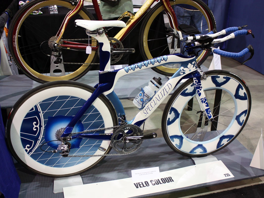 VeloColour took a standard Specialized Transition and turned it into this