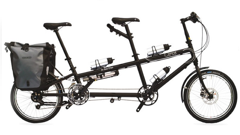 Circe Cycles' Helios tandem in touring mode
