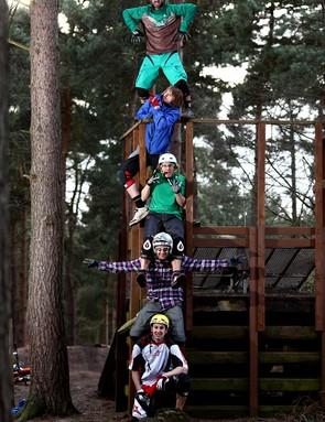 The MBUK Totem Pole - highly dangerous