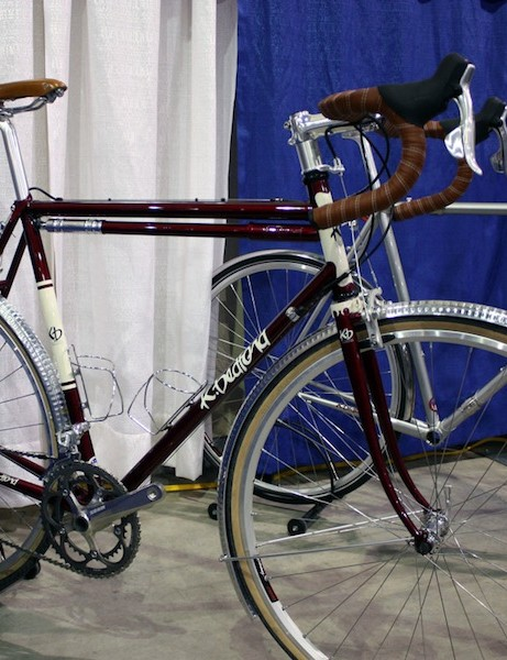 Former Serotta builder Kelly Bedford made the trip to NAHBS from upstate New York for a second year.