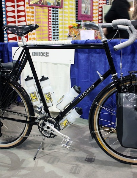 Coho Bicycles showed off this understated tourer.