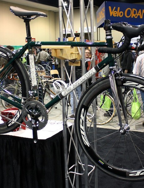 NAHBS organizer Don Walker is also an accomplished framebuilder in his own right.