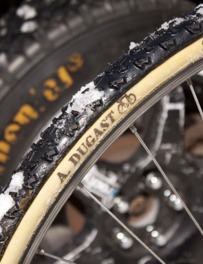 Dugast's Diavolo faces off against a Continental world cup rally tyre