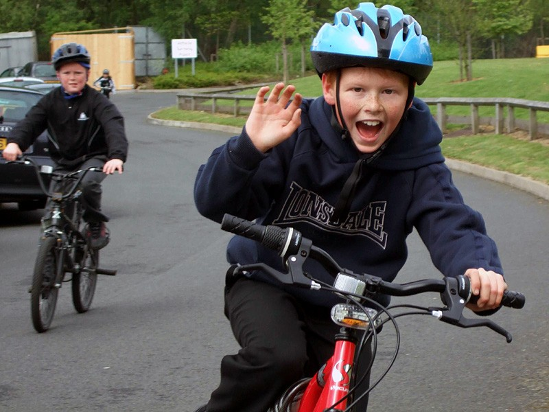 A great Cycle to School Day by Sustrans Bike It Perry Beeches Junior School