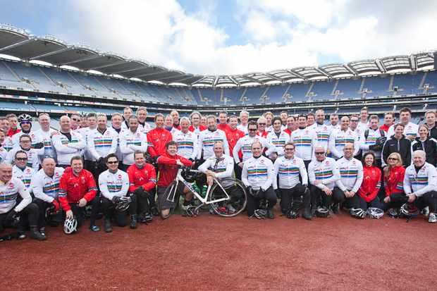 The Dallaglio Cycle Slam hits Croke Park, Dublin