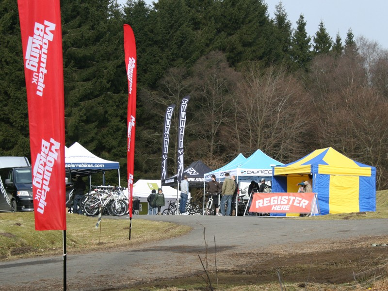 The Kielder Demo Day got off to an early start