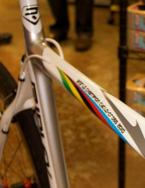 Ridley's 2011 X-Night comes with the option of Stybar's world championship paint job