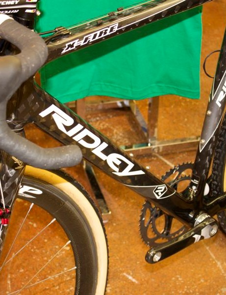 Ridley's X-Fire is unchanged for 2011